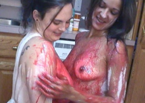 Madalyn & Maria get sticky